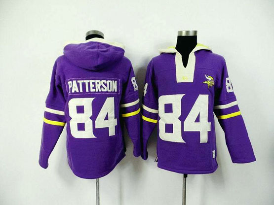 Mens Nfl Minnesota Vikings #84 Patterson Purple (2015 Team) Jersey