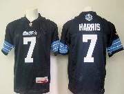 Mens Cfl Toronto Argonauts #7 Harris Blue Jersey