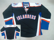 Mens Reebok Nhl New York Islanders (blank) Black Third Jersey