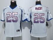 women  nfl Buffalo Bills #25 LeSean McCoy drift fashion white elite jersey
