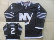 Mens reebok nhl new york islanders #2 leddy black Jersey