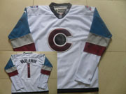 Mens Reebok Nhl Colorado Avalanche #1 Varlamov White (2015) Jersey