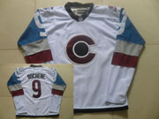 Mens Reebok Nhl Colorado Avalanche #9 Duchene White (2015) Jersey