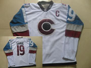 Mens Reebok Nhl Colorado Avalanche #19 Sakic White (2015) Jersey