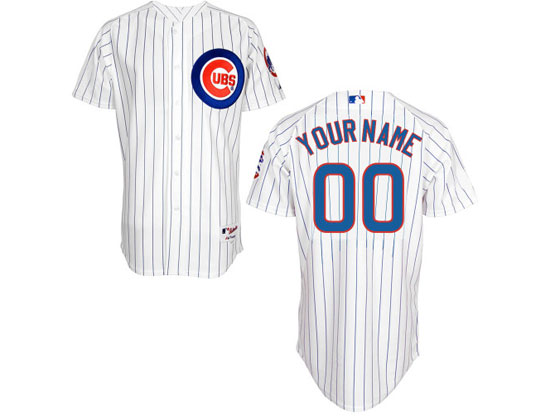 Mens Majestic Chicago Cubs White Cool Base Jersey