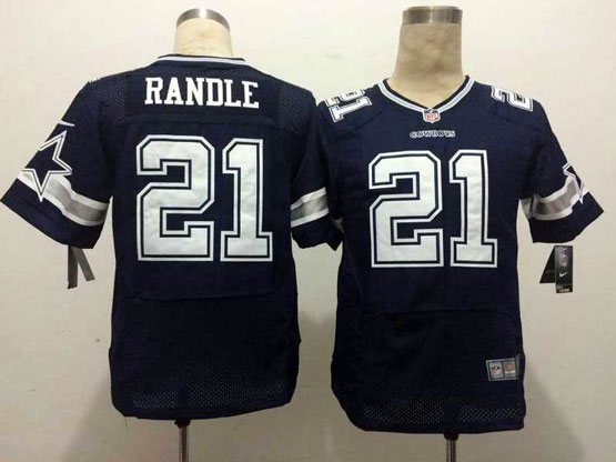 Mens Nfl Dallas Cowboys #21 Pandle Blue Elite Jersey Sn