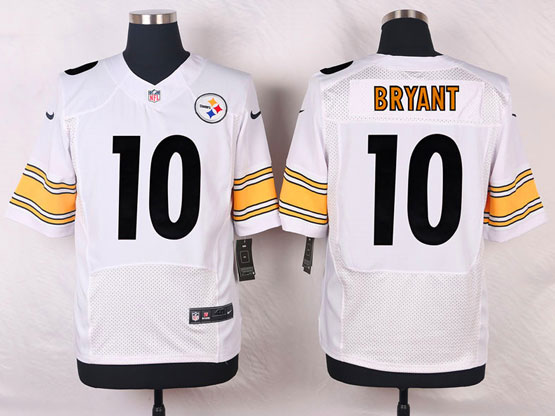 Mens Nfl Pittsburgh Steelers #10 Bryant White Elite Jersey