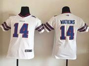 youth nfl Buffalo Bills #14 Sammy Watkins white (2013) limited jersey