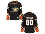 Women Nhl Anaheim Mighty Ducks (custom Made) Black Jersey