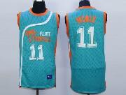 Mens Nba Movie Flint Tropics Semi Pro #11 Monix Light Blue Jersey