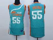 Mens Nba Movie Flint Tropics Semi Pro #55 Vakidis Light Blue Jersey