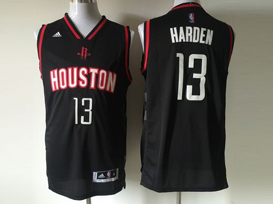 Mens Nba Houston Rockets #13 Harden Black (2016 New) Jersey