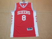 Mens Nba Philadelphia Sixers #8 Okafor Red Jersey (p)