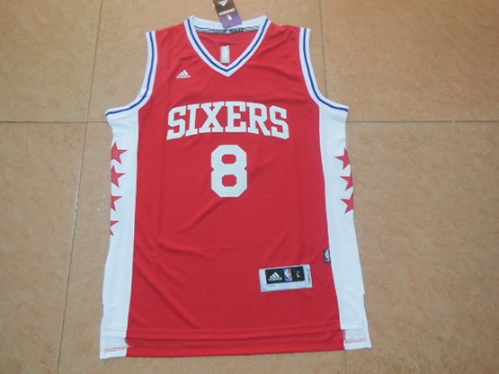 Mens Nba Philadelphia 76ers #8 Okafor Red Jersey (p)