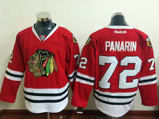 Mens Reebok Nhl Chicago Blackhawks #72 Panarin Red Jersey