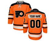 Youth Nhl Philadelphia Flyers (custom Made) Orange Winter Classic Jersey