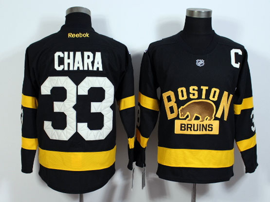 Mens Nhl Boston Bruins #33 Chara Black (2016 Winter Classic) Jersey