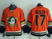 Mens Reebok Nhl Anaheim Mighty Ducks #17 Kesler Orange (2015 New) Jersey