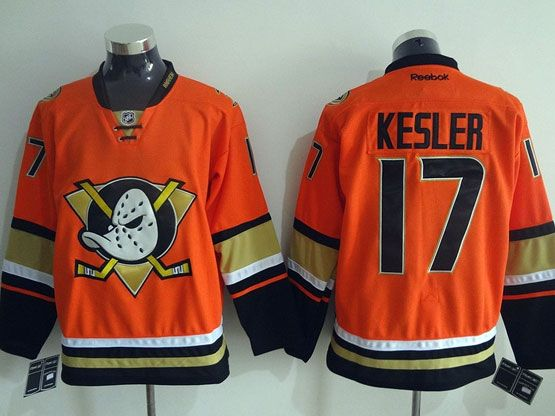 Mens Reebok Nhl Anaheim Mighty Ducks #17 Kesler Orange (2015 New) Jersey