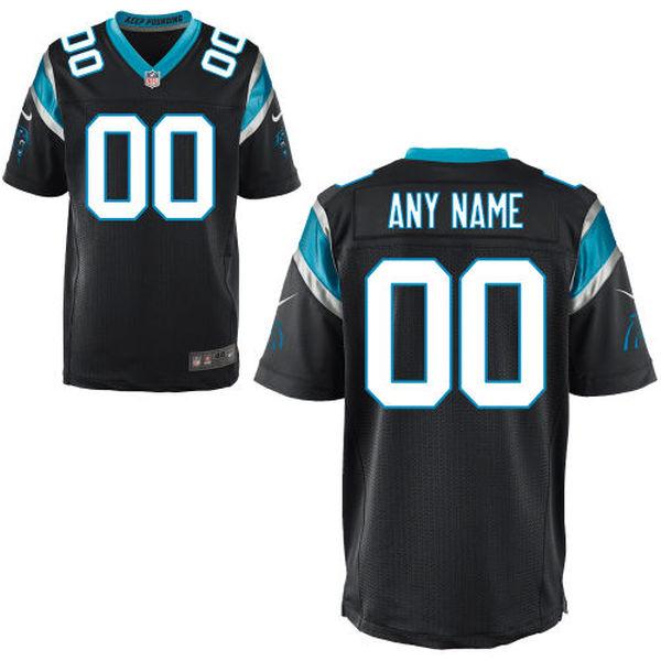 Mens Carolina Panthers Black Elite Jersey