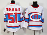 Mens Nhl Montreal Canadiens #51 Desharnais White 2016 Winter Classic Jersey