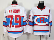 Mens Nhl Montreal Canadiens #79 Markov White 2016 Winter Classic Jersey