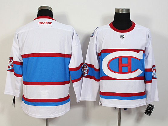Mens Nhl Montreal Canadiens (blank) White 2016 Winter Classic Jersey