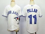youth mlb toronto blue jays #11 pillar white 2012 new style Jersey