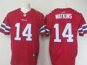 mens nfl Buffalo Bills #14 Sammy Watkins red elite jersey