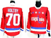 Mens Reebok Nhl Washington Capitals #70 Holtby Red 2016 Winter Classic Jersey