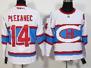 Mens Nhl Montreal Canadiens #14 Plekanec White 2016 Winter Classic Jersey