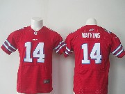 youth nfl Buffalo Bills #14 Sammy Watkins red elite jersey