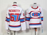 Women Reebok Nhl Montreal Canadiens #67 Pacioretty White 2016 Winter Classic Jersey