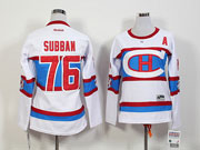 Women Reebok Nhl Montreal Canadiens #76 Subban White 2016 Winter Classic Jersey