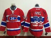 mens reebok nhl Montreal Canadiens #31 Carey Price red (usa flag fashion) jersey