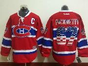 Mens Reebok Nhl Montreal Canadiens #67 Pacioretty Red (usa Flag Fashion) Jersey