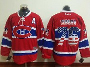 Mens Reebok Nhl Montreal Canadiens #76 Subban Red (usa Flag Fashion) Jersey