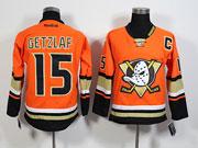 Youth Reebok Nhl Anaheim Mighty Ducks #15 Getzlaf Orange 2015 Jersey