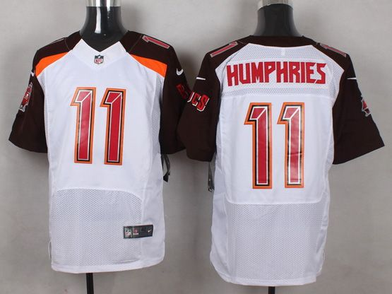 Mens Nfl Tampa Bay Buccaneers #11 Humphries White (2014 New) Elite Jersey