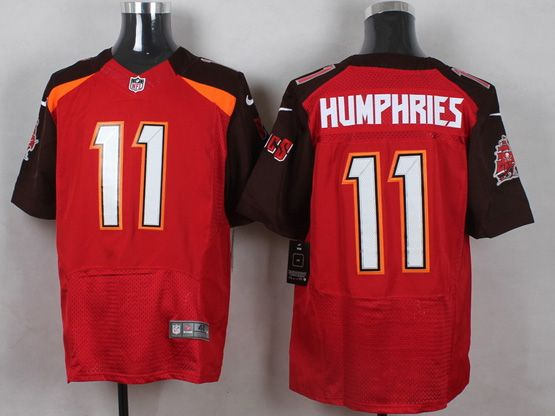 Mens Nfl Tampa Bay Buccaneers #11 Humphries Red (2014 New) Elite Jersey