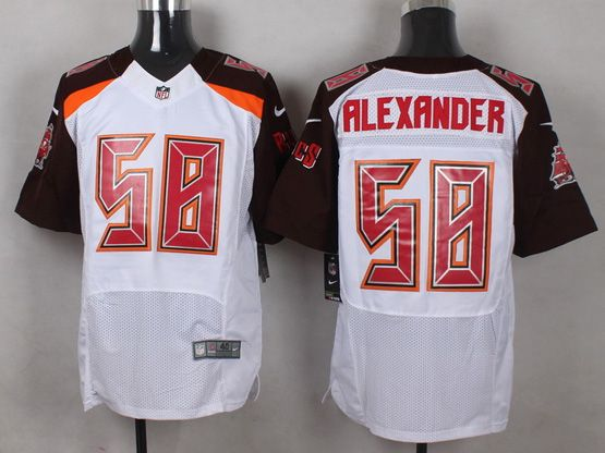 Mens Nfl Tampa Bay Buccaneers #58 Alexander White (2014 New) Elite Jersey
