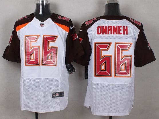 Mens Nfl Tampa Bay Buccaneers #66 Omameh White (2014 New) Elite Jersey