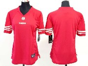 Women  Nfl San Francisco 49ers (blank) Red Limited Jersey