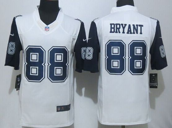Mens Nfl Dallas Cowboys #88 Bryant White (2015 New) Thanksgiving Limited Jersey
