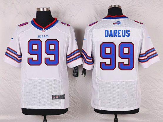 Mens Nfl Buffalo Bills #99 Marcell Dareus White Elite Jersey