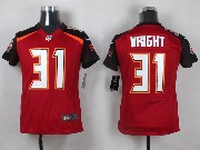 Youth Nfl Tampa Bay Buccaneers #31 Wright Red Game Jersey