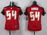 Youth Nfl Tampa Bay Buccaneers #54 David Red Game Jersey