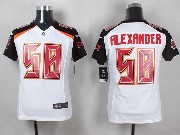Youth Nfl Tampa Bay Buccaneers #58 Alexander White Game Jersey