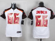 Youth Nfl Tampa Bay Buccaneers #66 Omameh White Game Jersey