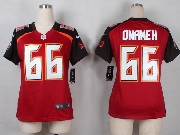 Women  Nfl Tampa Bay Buccaneers #66 Omameh Red Game Jersey